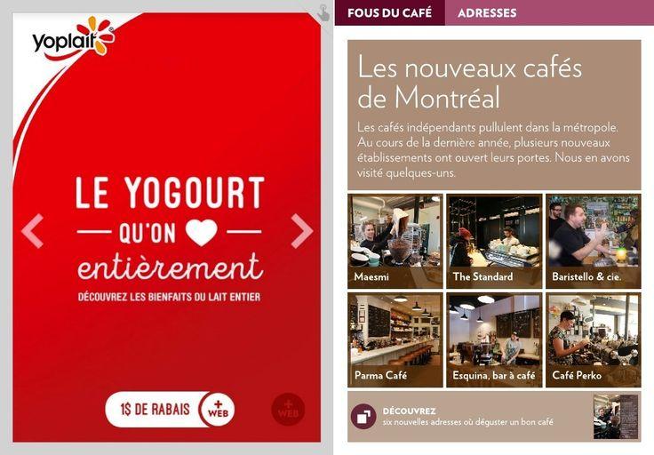 Les nouveaux cafés deMontréal - La Presse+