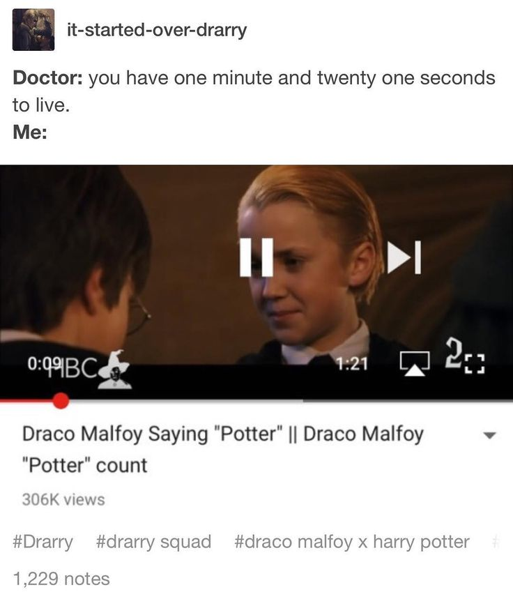 Best last minutes of life  #drarry