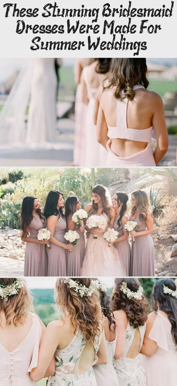 The Most Stunning Summer Bridesmaid Dresses Of 2018 #BridesmaidDressesMidi #BridesmaidDressesSummer #BridesmaidDressesWinter #BridesmaidDressesCountry #BridesmaidDressesMauve