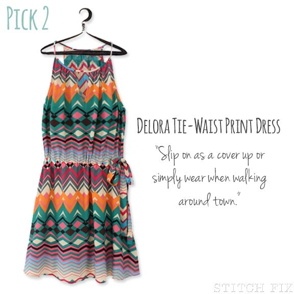 I know it is fall, but had to add this to my board.  Love everything about this dress!  Print Summer Dress