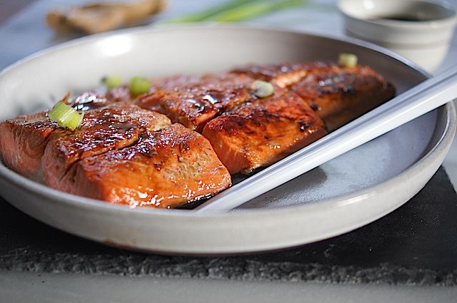 miso ginger glazed salmon ginger salmon glazed salmon salmon recipes ...