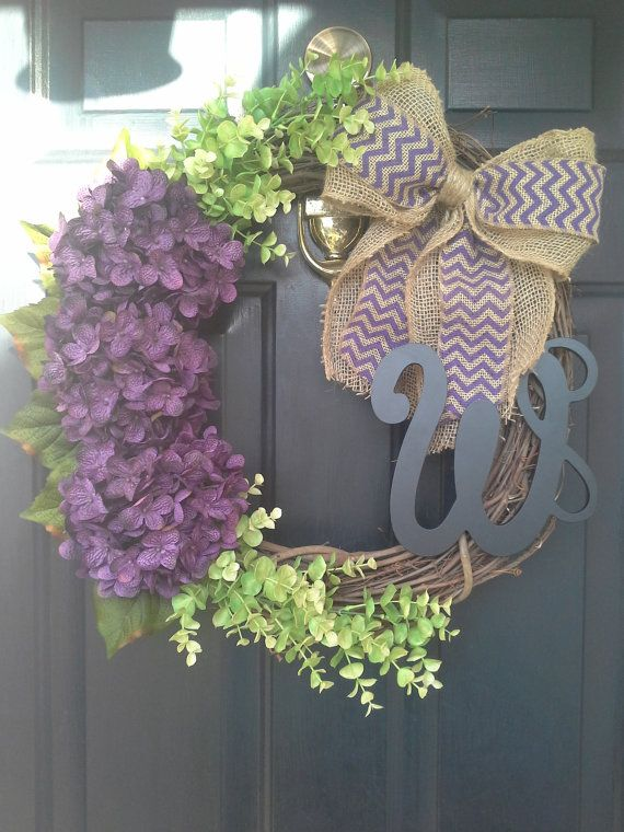 Hey, I found this really awesome Etsy listing at https://www.etsy.com/listing/185029214/door-wreath-monogram-wreath-spring