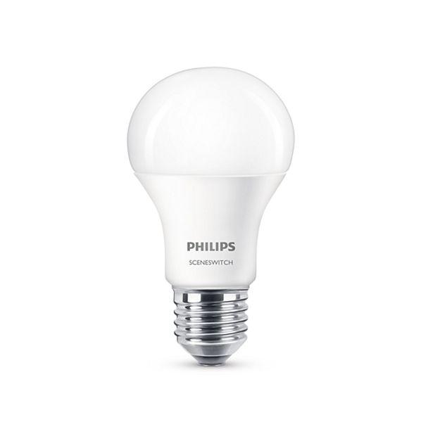 Bec LED Philips 9.5W E27 806LM lumina calda http://www.etbm.ro/becuri-led
