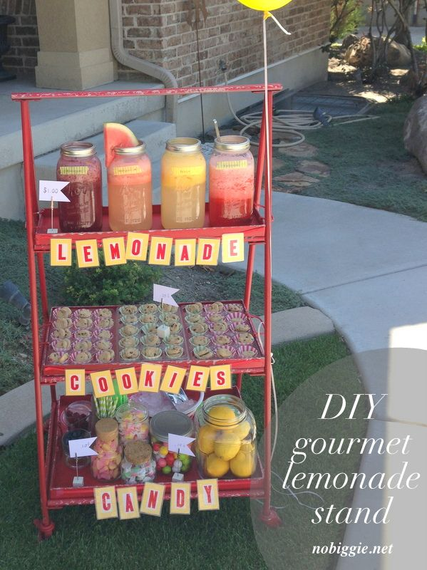 Gourmet Lemonade Stand Ideas Lemonade And Gourmet