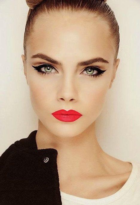 Czerwona szminka - nie tylko na wieczór!