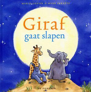 """Digitaal prentenboek """"Giraf gaat slapen"""" dieren, mijn lichaam"""