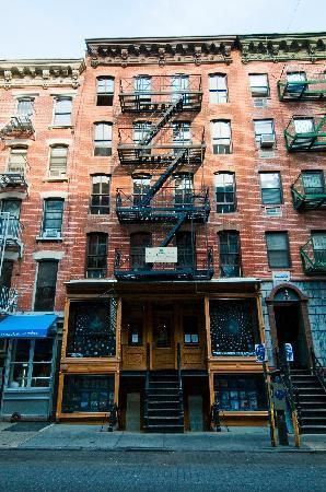 Tenement Museum - this museum, located in an actual tenement, is dedicated to interpreting and preserving the history of the immigrant experience on New York City's Lower East Side.