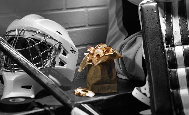 Chips de pommes à l'érable