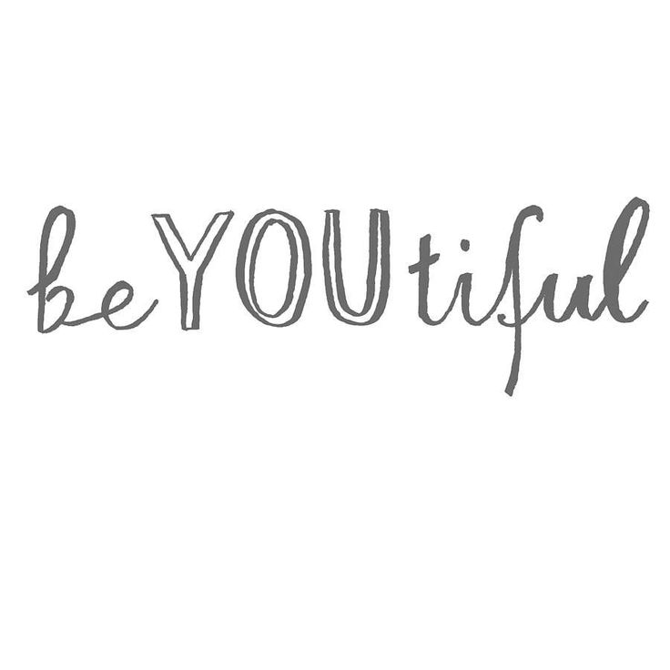 be YOUtiful | By Karin Åkesson Design