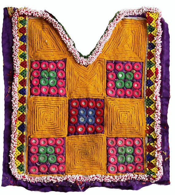 Indian Vintage Handmade Neck Yoke Thread With by coloursofspirit