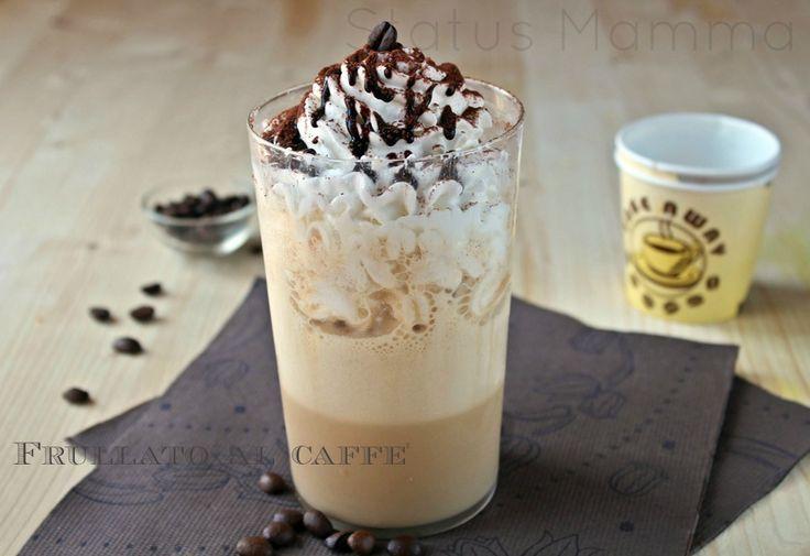 Frappuccino frullato freddo al caffè: Fa caldo, voglia zero di accendere fuochi e vi lascio un fresco intermezzo per la prossima pausa anche per stupire parenti e amici. Vi propongo un freschissimo FRULLATO AL CAFFE'