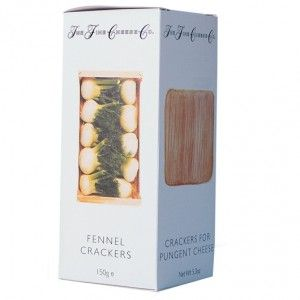 The Fine Cheese Co. Fennel Crackers