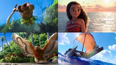 Google Note: 伝説の英雄「マウイ」と少女が伝説の島を求めて冒険に出るディズニー映画「モアナ」予告編