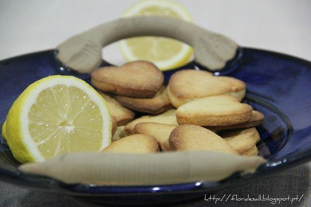 Flor de Sal: Lemon sweethearts ... ou Bolachas de Limão #Presen...