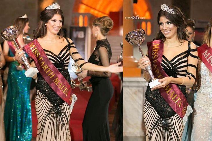 Natalya Galdes crowned as Miss Earth Malta 2016