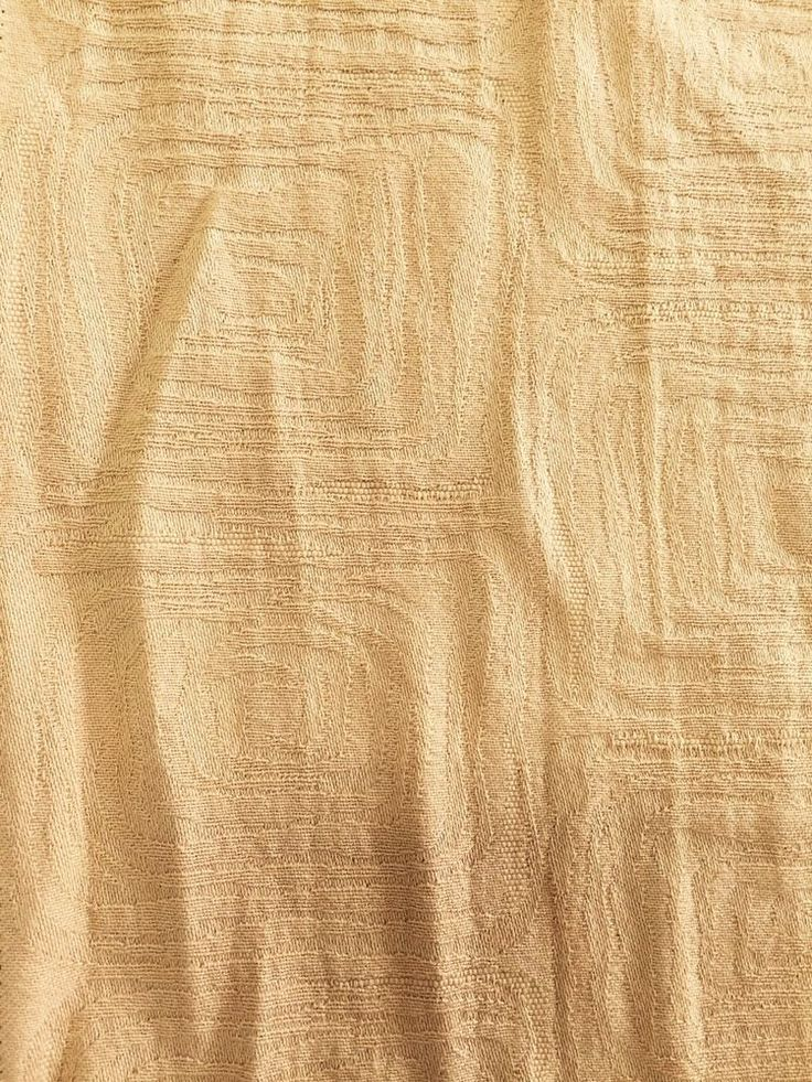 patterned cotton blend gold Drapery Pillow Fabric by the yard