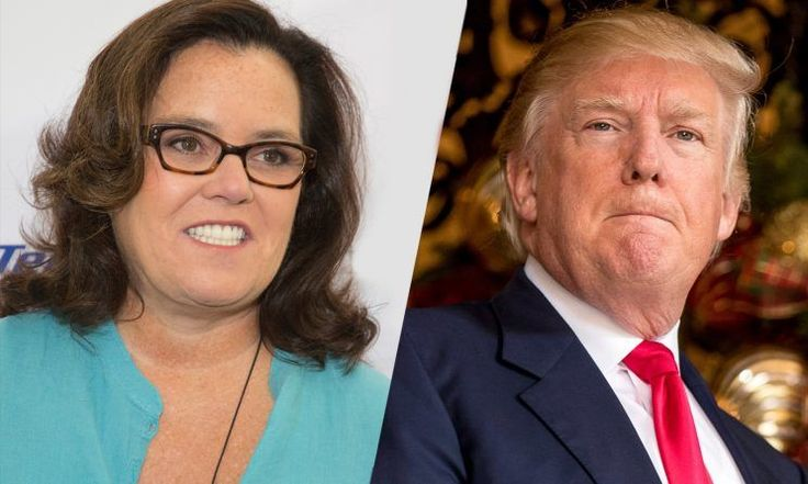 Crazed But Hurt Liberal Rosie O'Donnell calls for martial law to stop Donald Trump inauguration