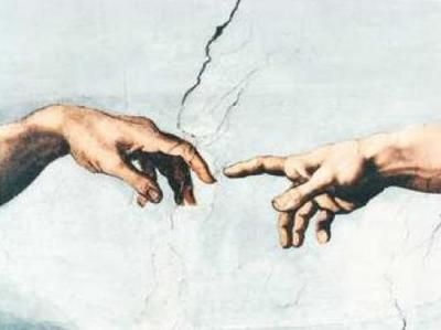 Da Vinci's The Creation- once knew someone who tried to paint this for a school project. *shakes head*