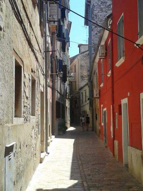 Alley in Rovinj.