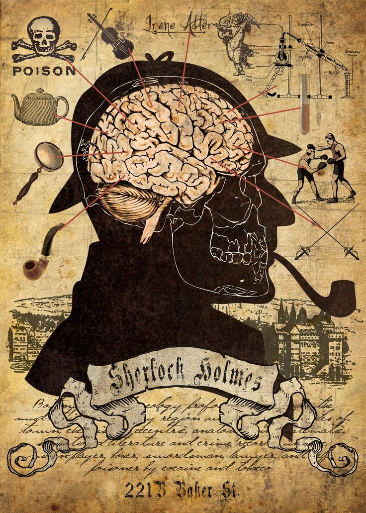 "Cool Sherlock Art! | ""The Mind of Sherlock Holmes"" 