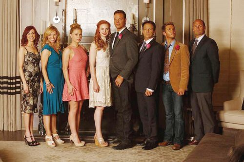 True Blood Season 7 - Jessica and Hoyt's wedding guests :)