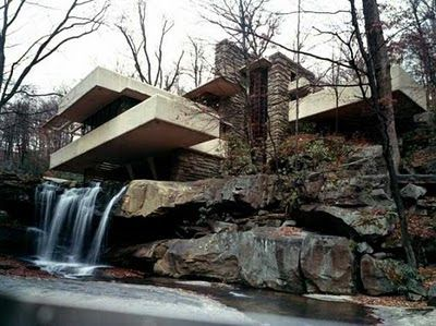 Fallingwater House, de Frank Lloyd Wright.