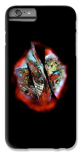 Fade Away IPhone 6s Plus Case Printed with Fine Art spray painting image Fade Away by Nandor Molnar (When you visit the Shop, change the orientation, background color and image size as you wish)
