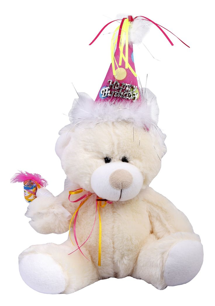 Ready to celebrate with your special birthday teddy bear! #happy_birthday #gift #teddy_bear