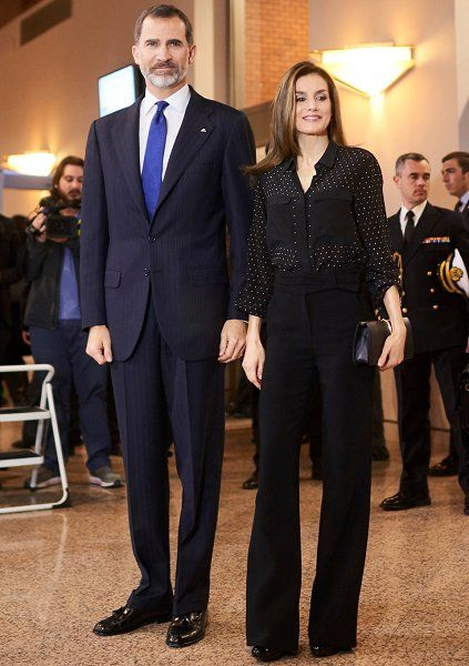 King Felipe and Letizia attend the tribute concert for terrorism victims