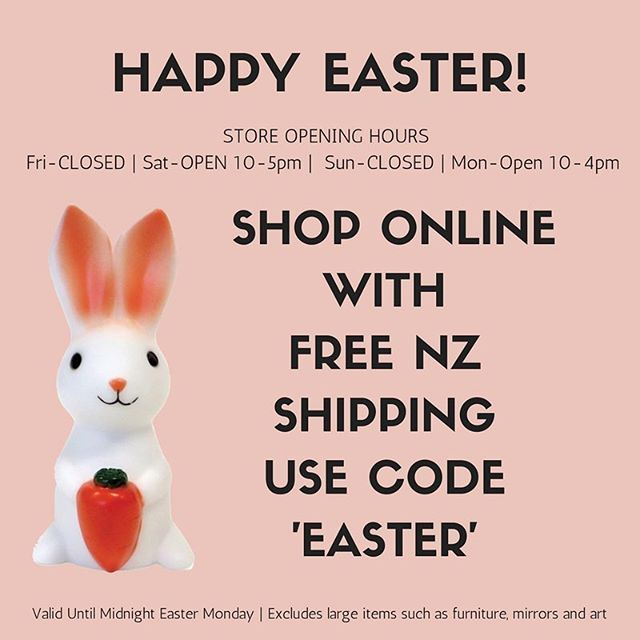Happy Easter Everyone To Enjoy Some Family Time Our Stores Will Be Closed Friday And Sunday But You Can Shop Happy Easter Everyone Happy Easter Easter Monday