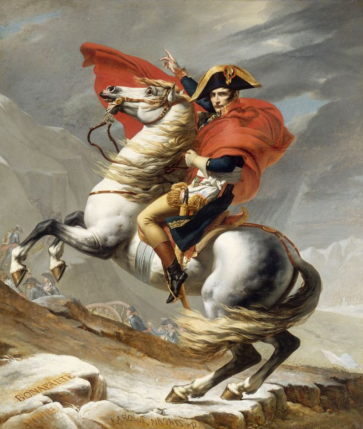 History:Napoleon Bonaparte was political leader. He was also a military leader. He was the leader during the french revolution of Italy.  He conquered most of Europe in the early 19th century.