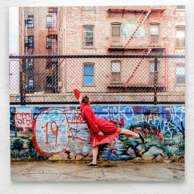 THE END-ACT III · 1st edition 120x120 cm Aluminum · Brooklyn, New York, USA — Vesa Loikas Photography
