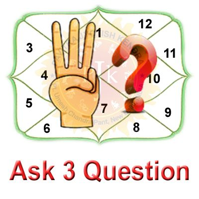 Ask 3 Questions