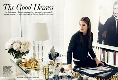 Interiors: At home with cosmetic heiress Aerin Lauder