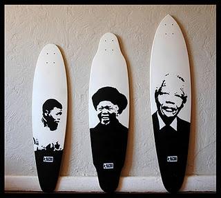 Madiba (Mandela) longboards