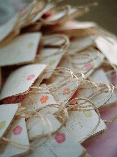 Wedding Favor Bags Coral : burlap bags favor bags wedding paper wedding stationary wedding ...