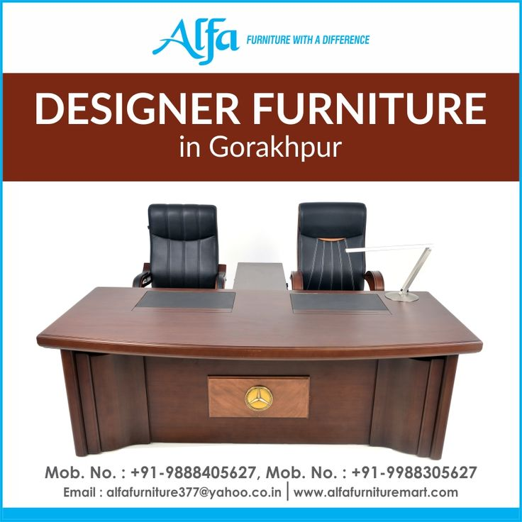 Get The Best Range Of Designer Office Furniture In Gorakhpur From Our Services At Alfa