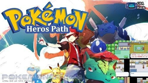 http://www.pokemoner.com/2017/10/pokemon-heros-path.html Pokemon Heros Path  Name: Pokemon Discovery Remake From: Pokemon Heros Path Remake by: Veng3anc3 Description: You are RED Ash Ketchum whatever you prefer you've recently beaten the Elite 4 and become a true POKEMON champion. Prof.OAK has had a generator fitted in his lab to fuel the town a more efficiently way you've kindly left your Pikachu with OAK as a break from POKEMON battles and to keep a steady flow of electricity. With all the…
