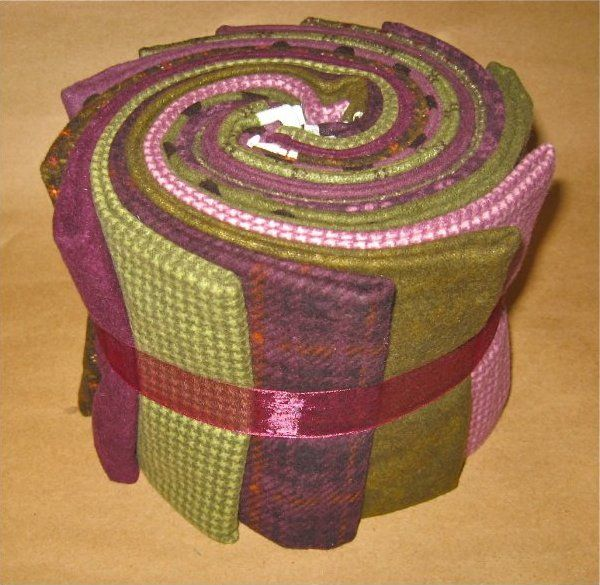 12 Flannel purple/green