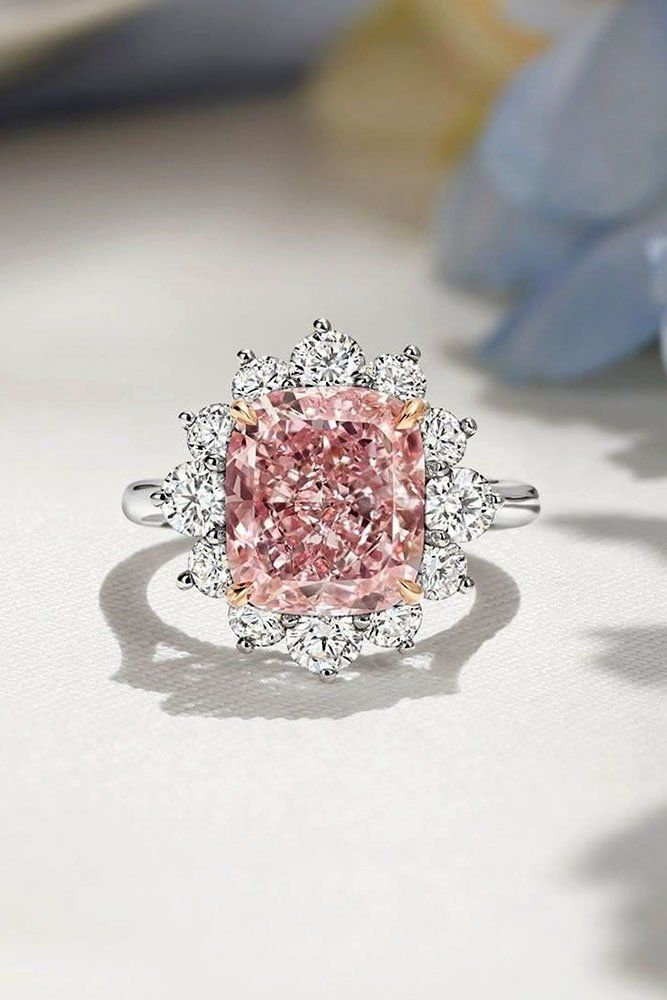 30 Incredible Harry Winston Engagement Rings Wedding Forward Pink Wedding Rings Pink Engagement Ring Pink Diamonds Engagement