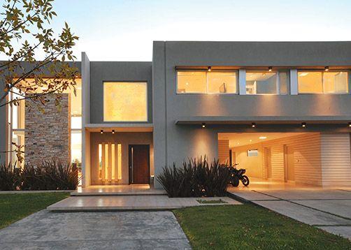 Las 25 mejores ideas sobre fachadas de casas for Disenos de casas chiquitas y bonitas