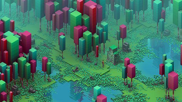 Isometric Swamp