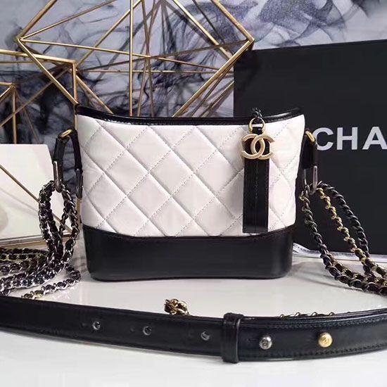 91ae30b9f0df Chanel Gabrielle Small Hobo Bag White A91810