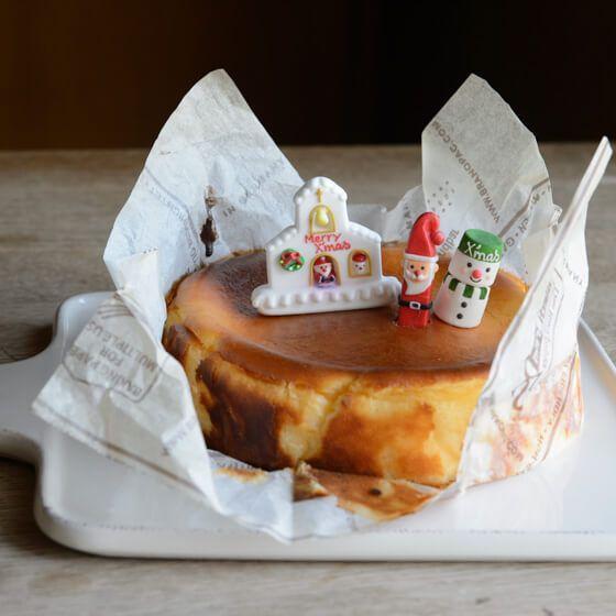 バル風焼チーズケーキの画像