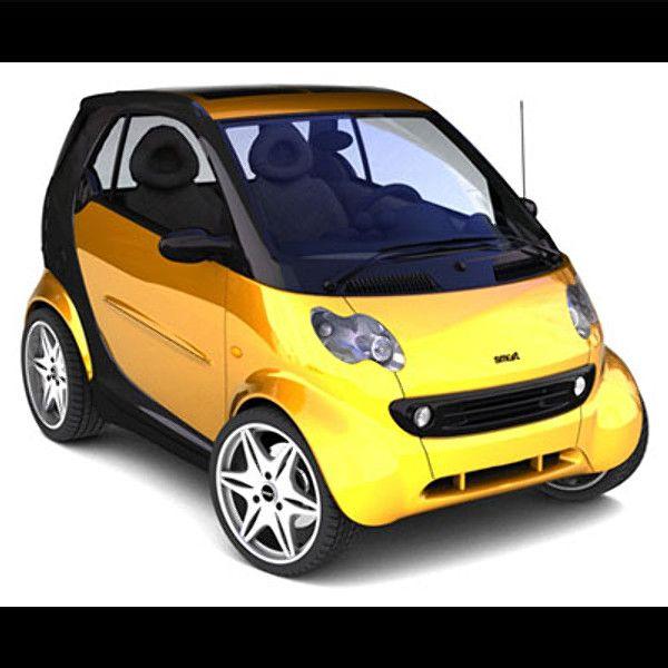 3D Model Smart Passion 2005 - 3D Model