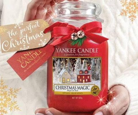 The pefrect Christmas gift for me. Christmas Magic ~ Yankee Candle UK 2017