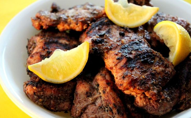 skinnymixer's Za'atar Grilled Chicken