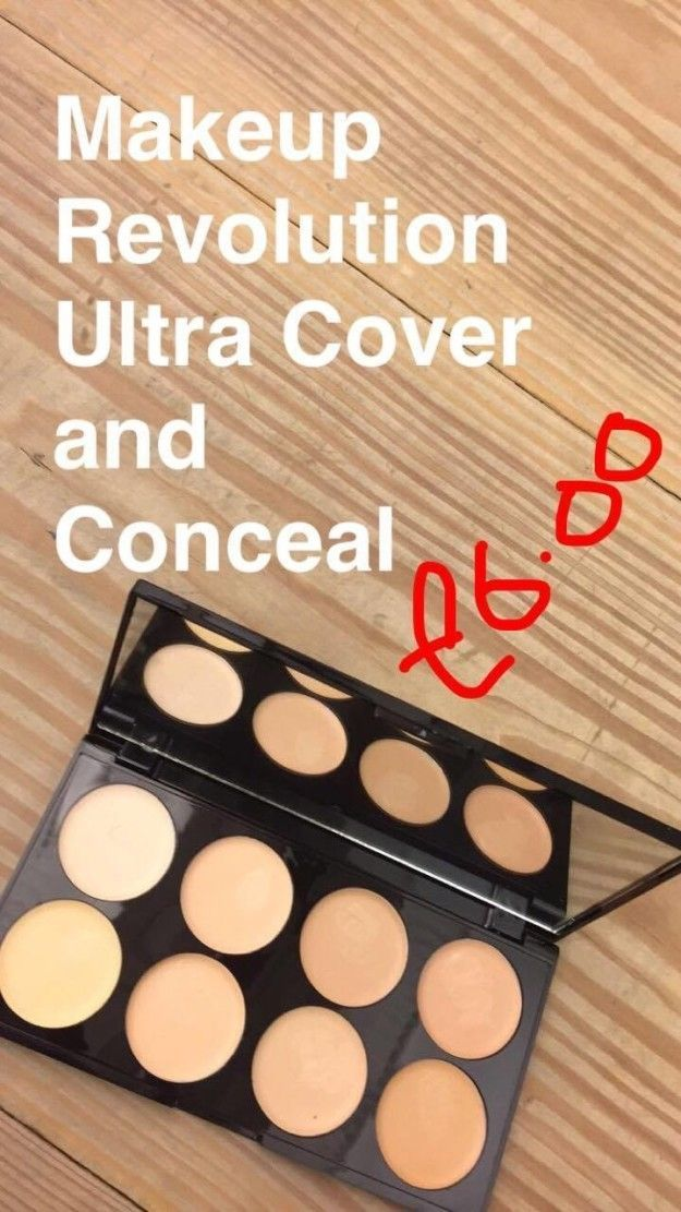 First up Emma tried the Makeup Revolution Ultra Cover and