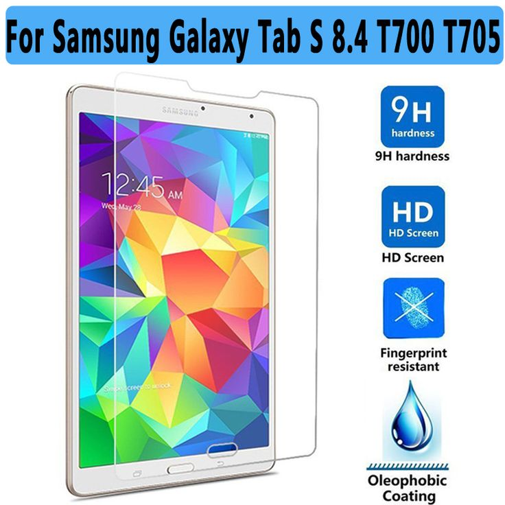 Premium Tempered Glass or Samsung Galaxy Tab S 8.4 T700 T705 Screen Protector for Samsung Tab S 8.4 T700 T705 Tempered Glass