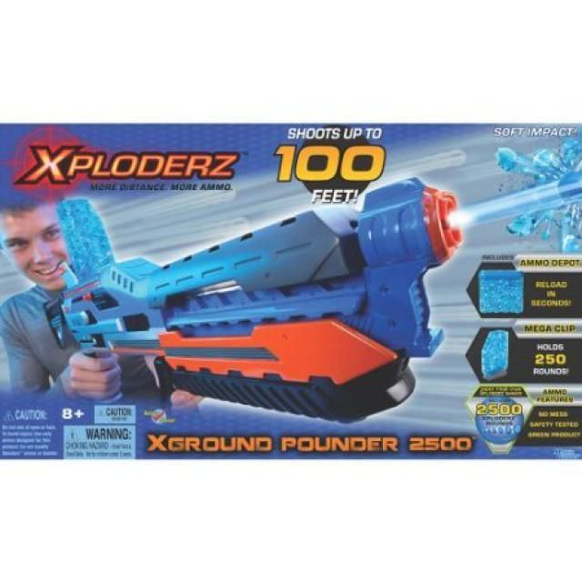 Best Toys for Boys Ages 8-12: Xploderz XGround Pounder 2500